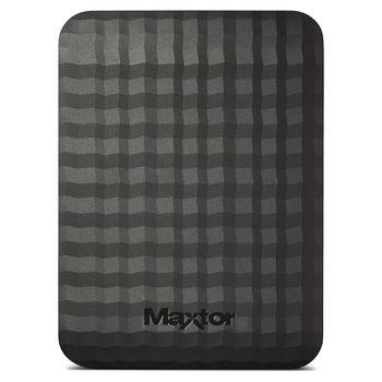 "2.5"" External HDD 1.0TB (USB3.0)  Seagate ""Maxtor M3 Portable"" STSHX-M101TCBM, Durable Black design"