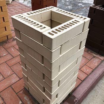 25x6,5x6,5 см Тоскана Клинкерный Кирпич Брусок