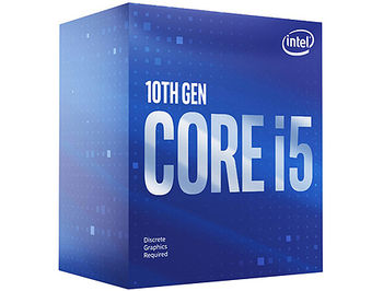 Procesor CPU Intel Core i5-10400F 2.9-4.3Hz Six Cores, 12-Threads (LGA1200, 2.9-4.3GHz, 12MB, No Integrated Graphics) BOX with Cooler, BX8070110400F (procesor/процессор)
