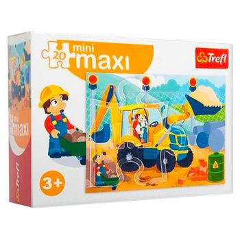 """Пазлы """"miniMaxi"""" - """"Excavator"""", код 41667"""