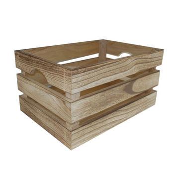 купить Ящик деревянный 360х260х180 мм, коричневый в Кишинёве