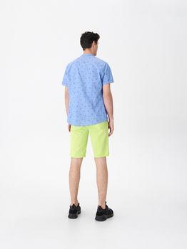 Рубашка HOUSE Синий с принтом vn903