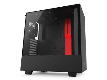 cumpără Case NZXT H500 Black Red (CA-H500B-BR) în Chișinău