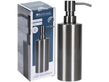 Dozator pentru sapun lichid Inox H19cm,D6cm, metal