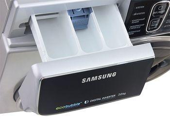 Стиральная машина узкая Samsung WW70K62E69SDBY