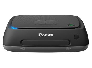 Connect Station Canon CS100CIS, 1TB, NFC, WiFi, HDMI, 10BASE-T, 100BASE-TX, 1000BASE-T, USB2.0, Memory card slots CF/SD + Remote Control CS-RC1 + cloud services or social media like Flickr®, Facebook™, Google™ and irista