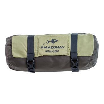 cumpără Hamac Amazonas Moskito-Traveller Thermo, 140x275cm, green-gray, 200 kg, AZ-1030230 în Chișinău