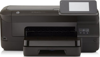 Printer HP Officejet Pro 251dw Printer, Up to 25ppm, Duplex, 1200 x 1200 dpi, 4.3-inch touchscreen display, 256MB Memory, Up to 30,000 pages, Hi-Speed USB 2.0, Ethernet 10/100 Base-TX,  Wireless 802.11 b/g/n (#950 Black, #951 C/M/Y Ink Cartridge)