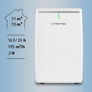 купить Осушитель воздуха Trotec TTK 53 E 16 л/день, 31 м.кв. в Кишинёве