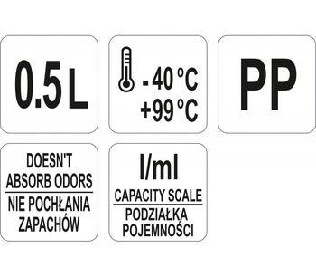 cumpără Pahar gradat 500 ml în Chișinău