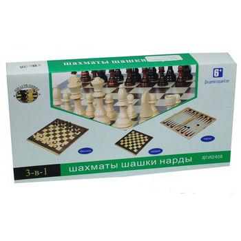 купить Шашки и шахматы и  нарды 3 в 1 в Кишинёве