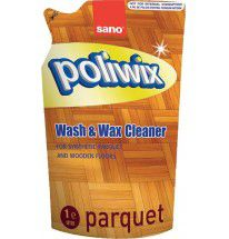 купить Sano Poliwix Parquet Средство для мытья паркета и ламината (запас) 2л 935734 в Кишинёве