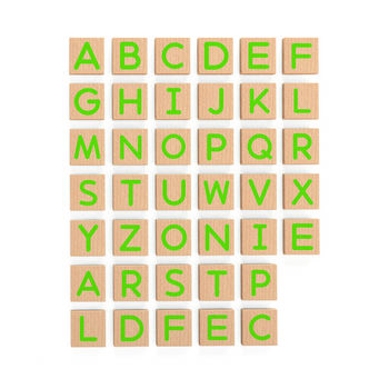 купить Viga Магнитныи алфавит 40 штк в Кишинёве