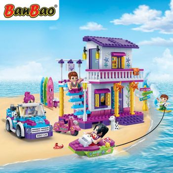 BanBao 6125  trendy beach - 480 blocks