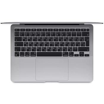 "Laptop 13.3"" Apple MacBook Air MGN93UA/A Silver, Apple M1 7-core GPU/8GB Apple M1 3200MHz/256GB SSD/Video Apple M1 7-Core/WiFi 6 802.11ax/BT5.0/USB Type C/HDMI/DP/ Thunderbolt 3/ WebCam FaceTime 720p (HD)/13.3"" 2560x1600 Retina/ Mac OS Big Sur, RU"