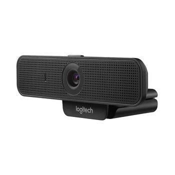 Logitech C925e Business Webcam, Full HD 1080p 30fps & HD 720p 30fps, Diagonal Field of View 78 degrees, 1.2x digital zoom (Full HD), HD autofocus, RightLight 2, Dual omni-directional mics, UVC H.264, 960-001076