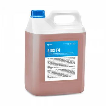 Gios F4 - Щелочное пенное моющее средство на основе ЧАС 5 л