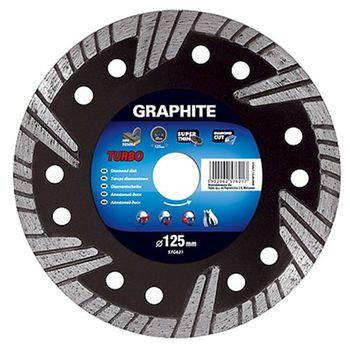 Graphite Диск отрезной алмазный 125мм 57H621
