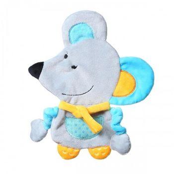купить Babyono Игрушка обнимашка шуршалка для младенцев Flat Mouse в Кишинёве