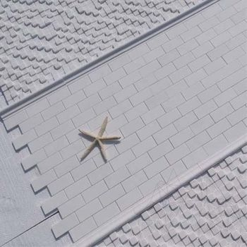 cumpără Mozaic Marmura Thassos Polisata 5 x 10 cm în Chișinău