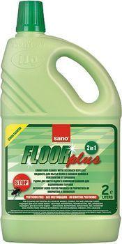 Средство для мытья полов от муравьёв и тараканов Sano Floor Plus 2 л
