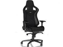 Игровое кресло Noble Epic NBL-PU-BLU-002 Black / Blue,