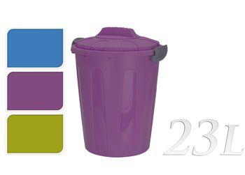 Ведро для мусора 23l, H45cm, D35cm
