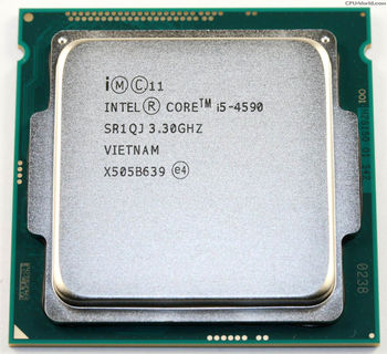 Intel® Core™ i5 4590, S1150, 3.3-3.7GHz, 6MB L3, Intel® HD Graphics 4600, 22nm 84W, tray
