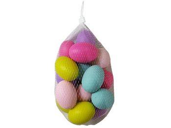 Яйца пасхальные 15 шт, в сетке