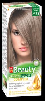 Краска для волос,SOLVEX MM Beauty, 125 мл., M28 - Светло русый пепельный