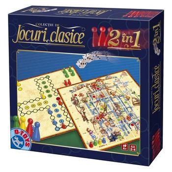 купить D-Toys Настольная игра Классическая 2 в 1 в Кишинёве