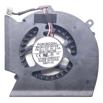 CPU Cooling Fan For Samsung R523 R525 R528 R530 R538 R540 R580 RV508 RV510 P530 (3 pins)