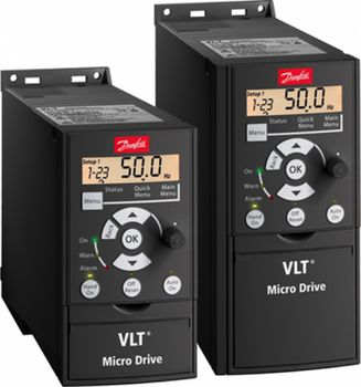 купить Частотные преобразователи Danfoss VLT Micro  Drive FC 51 380,15kW в Кишинёве