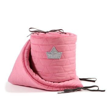 купить Бортики в кроватку LaMillou Velvet Collection Florida Pink в Кишинёве