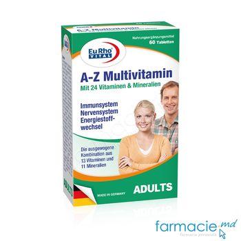 cumpără A-Z Multivitamin plus Q10 & Luteina comp. N60 EuRho Vital în Chișinău