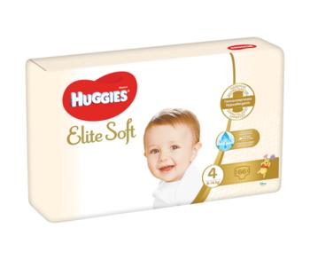 cumpără Scutece Huggies Elite Soft Mega 4 (8-14 kg), 66 buc. în Chișinău