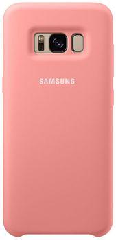 купить Чехол для моб.устройства Samsung EF-PG950, Galaxy S8, Silicone Cover, Pink в Кишинёве
