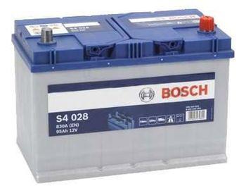 Bosch S4 12V 95Ah 830EN 306x173x225 -/+