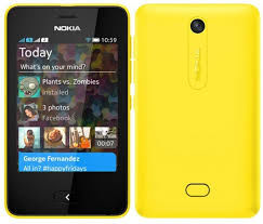 Nokia Asha 502 2 SIM (DUAL) Yellow
