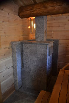 Каменка дровяная - Tulikivi GRINION в камне