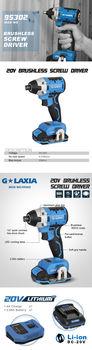 купить Ударный шуруповерт GaLAXIA 95302 Brushless 20V, 200Nm в Кишинёве