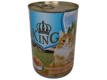 """купить Piko Pet """"KING"""" с птицей, для кошек, 415g в Кишинёве"""