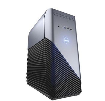 DELL Inspiron Gaming 5680 MT +W10H lnteI® Core® i5-8400 (Six Core, up to 4.0GHz, 9MB), 8GB DDR4 RAM, 128GB SSD+1TB HDD, DVDRW, NVIDIA GeForce GTX 1060 6GB DDR5 Graphics, Wi-Fi/BT4.1, 460W PSU, USB KB&MS, Win 10 Home, McAfee 15 Month, Black