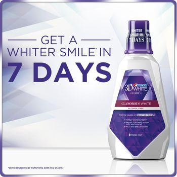 купить Crest 3D White Glamorous White - Mouthwash 1 Liter в Кишинёве