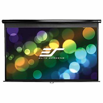 "Elite Screens 120""(16:9) 149,4x265,7cm Manual Pull Down Screen, Black"