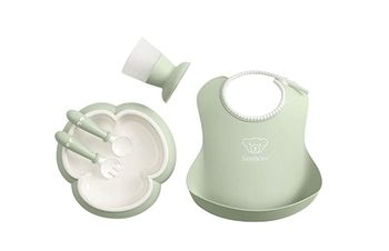 Набор для кормления BabyBjorn Powder Green