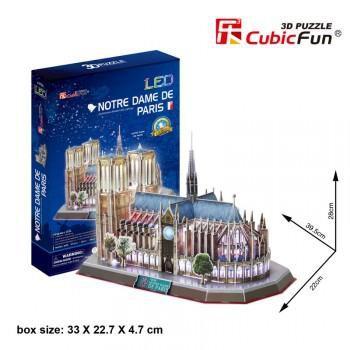"""CubicFun 3D пазл """"Notre Dame de Paris"""""""