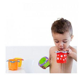 купить Набор ведерок для ванной Nuby (5 шт) в Кишинёве
