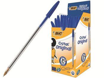 Ручка шариковая BIC Cristal Original (1/50), синяя