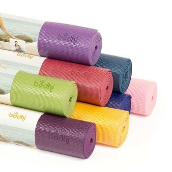 cumpără Mat pentru yoga Bodhi Rishikesh Premium 60 BURGUNDY -4.5mm în Chișinău